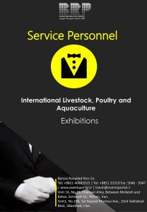 Service Personnel International Livestock, Poultry and Aquaculture Exhibition